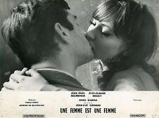 ANNA KARINA JEAN-LUC GODARD UNE FEMME EST UNE FEMME 1961 PHOTO ORIGINAL #1