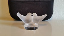 Signed LALIQUE Crystal Figurine Kissing Doves