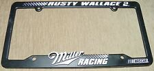 #2 Rusty Wallace Plastic License Plate Holder - NASCAR