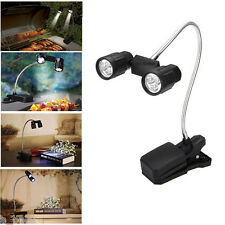 Adjustable 6 LED Flexible Clip Light Outdoor Cooking BBQ Lamp Super Bright New