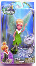 "Disney Fairies Secret of the Wings 4.5"" Tink figure Jakks 422329"