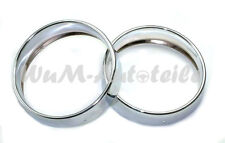 2 x Scheinwerfer Zierring Fiat 500 F R new pair of headlight rings