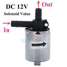 6mm DC 12V Mini Plastic Gas Water Air Solenoid Valve 0-0.4MPA Normally Closed