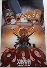 SDCC 2016  EXCLUSIVE  THE SIMPSONS  Treehouse Of Horror    Poster 11 x 17  FOX
