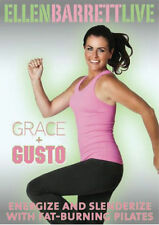 THE STUDIO BY ELLEN BARRETT LIVE GRACE AND GUSTO DVD NEW SEALED WORKOUT EXERCISE