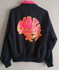 Vintage MAC TOOLS Neon Jacket RACING Mens Medium Swingster AUTO Motorcycle