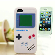 Creative Retro Funny Nintendo Game Boy Soft Rubber Cover Case For iPhone 5 5S