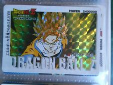 Carte Dragon Ball Z DBZ PP Card 1085 Prisme AMADA 1989 MADE IN JAPAN CARD