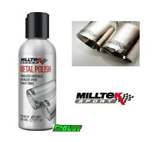 Mercedes Benz A45 AMG C Class SLK SLR CLK MILLTEK Exhaust Metal Cleaning Polish