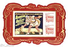 Circus Souvenir Sheet No Die-cuts Imperforate from press sheet