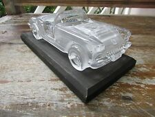 Hofbauer 24% Crystal 1959 Chevy Corvette antique car W. Germany 1980's display