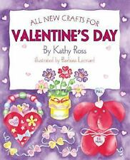All New Crafts For Valentines (All-New Holiday Crafts for Kids)-ExLibrary