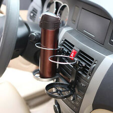 Car  Interior Air Outlet Mount Folding Bottle Holder Cup Beverage Stand With Fan