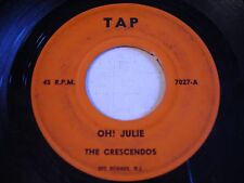 The Crescendos Oh! Julie / Angel Face 1962 45rpm