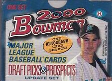 2000 BOWMAN DRAFT PICKS & PROSPECTS FACTORY SEALED SET + AUTOGRAPH *INV BX