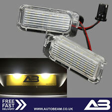 Focus LED Numberplate Lights Replacement FORD MK2 ZS ST RS BRIGHT