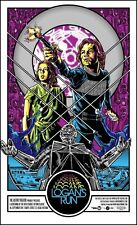 LOGANS RUN VARIANT MOVIE POSTER LIMITED EDITION SILKSCREEN BY TIM DOYLE