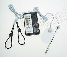 Electric Urethral Sound Plug Shock Extender Ring Electro Pads Set Medical Themed