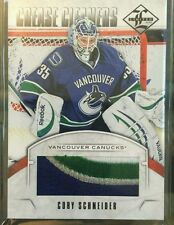 2012-13 Limited Patch Cory Schneider /5 SP 12/13 Panini SSP Crease Cleaners !!!!