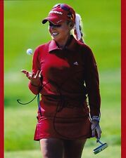 Natalie Gulbis #4 autographed 8x10 Photo Free Shipping
