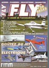 FLY N°162 PLAN : TRAINER T7 / RV-4 GREAT PLANES / EASYCUB MULTIPLEX / E-SKY