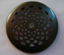 "3"" BRONZE PATINA Tiffany Style VENTED Brass HEAT CAP for GLASS Lamp SHADES"