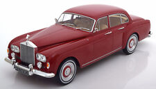 MCG 1965 Rolls Royce Silver Cloud 3 Flying Spur RHD Mulliner Dark Red 1/18 New!
