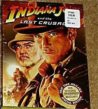INDIANA JONES & THE LAST CRUSADE SPECIAL EDITION DVD 2008 NEW NEVER WATCHED