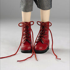 Dollmore Clothes MSD - Nex Boots (Red)