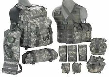 Rifleman MOLLE II ACU Army Set Assault Pack FLC Hydration System Waist Pack NEW!
