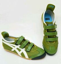 Asics Onitsuka Tiger Mexico Olive /White Velcro Size 7M MINT Special Editio