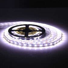 5M 5050 SMD Cool White 300 Led Strip Light Non-waterproof Car 12V 16.4ft Lamp Ta
