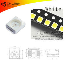 100PCS SMD SMT 1210(3528) LED White Light Emitting Diodes PLCC-2 High Quality