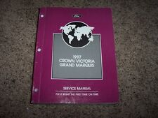 1997 Mercury Grand Marquis Shop Service Technical Repair Manual GS LS 4.6L V8