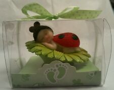 LADYBUG RED BABY SHOWER BIRTHDAY CAKE TOPPER PARTY DECORATION FAVOR FIGURINE