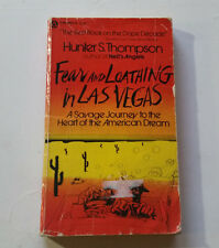 Fear and Loathing in Las Vegas Hunter S. Thompson pb '71 ralph steadman illustra