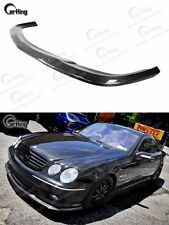 CARBON FIBER 01-06 MERCEDES-BENZ W215 CL55 AMG 2-DOOR COUPE FRONT LIP SPOILER