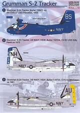 Print Scale Decals 1/72 GRUMMAN S-2 TRACKER U.S. Navy ASW Aircraft