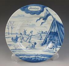 """DELFT METROPOLITAN MUSEUM OF ART JANUARY MONTH OF THE YEAR 9"""" PLATE MMA Dutch NY"""