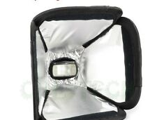 mini Soft Box Kit Softbox for Canon Nikon Pentax Olympus Flash Speedlite 23*23cm
