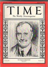 1927 Time March 21-Gold found in Tonopah NV: Darrow vs KKK; Dracula; Henry Ford