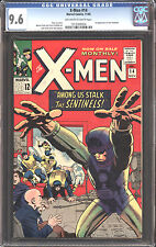 1963 X-Men 14 CGC 9.6! 1st App of Sentinels! Highest graded! WOW! Kirby Cover!