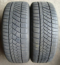 2 Winter tyres Continental conti contact TS830P SSR RSC 205/55 R16 91H M + S