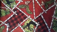 Troy Riverwoods Rustic Retreat 1835 4 FLANNEL Cotton Fabric BTY