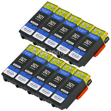 10x BLACK XL TINTE PATRONEN für Epson XP510 XP520 XP600 XP605 XP610 XP615 XP620