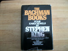 """STEPHEN KING """" THE BACHMAN BOOKS """" FOUR EARLY NOVELS HARD TO FIND 4 GREAT NOVELS"""