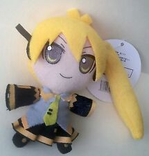"New, Vocaloid ""Neru Akita"" 3.5in (8.5cm) soft plush doll, Free Shipping (A)"