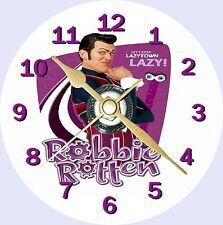 Lazy Town Robbie Rotten Cd Clock Can personalise