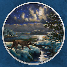Kanada - Animals in the Moonlight - Cougar - 30$ 2017 PP Silber - Puma - Sofort