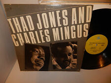THAD JONES AND CHARLES MINGUS Max Roach Frank Wess Kenny Clarke '80 Prestige LP
